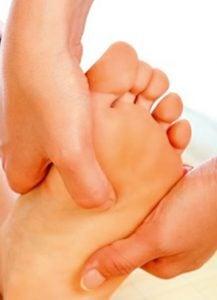 Naturheilpraxis Laucken Fußreflexzonen Massage