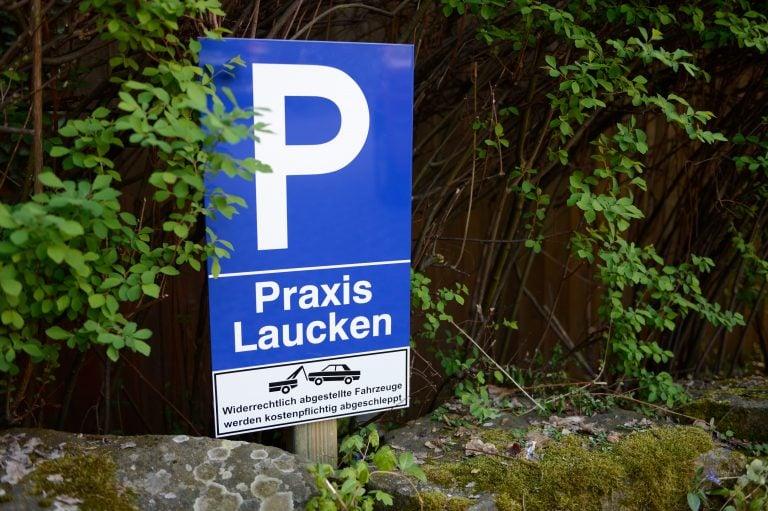 Naturheilpraxis Laucken Parkplatz
