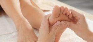 Naturheilpraxis Laucken Therapie Fußreflexzonen Massage